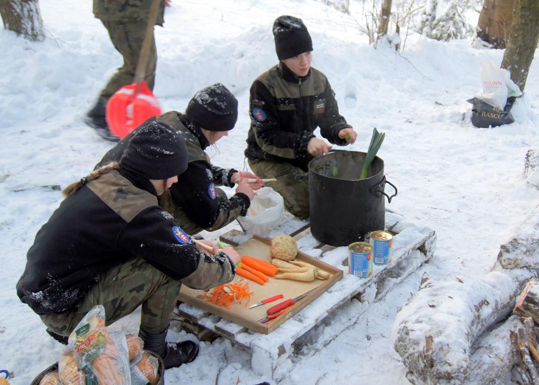 Obóz wojskowy wUstrzykach Dolnych