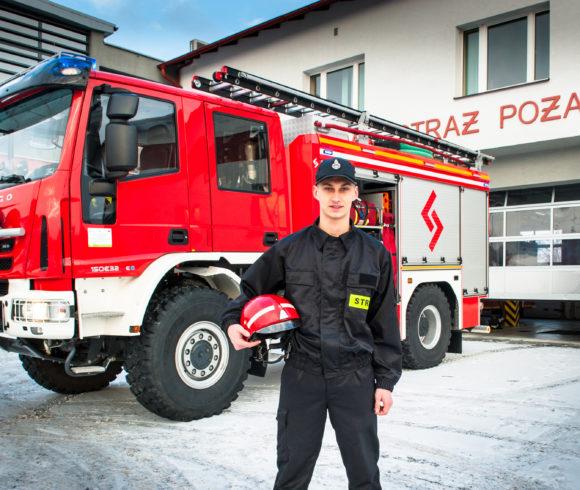 Technik spedytor z innowacją pożarniczą ***NOWOŚĆ***