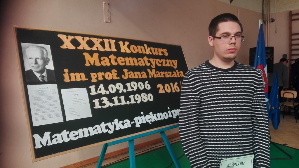 XXXII Konkurs Matematyczny  im.J. Marszała