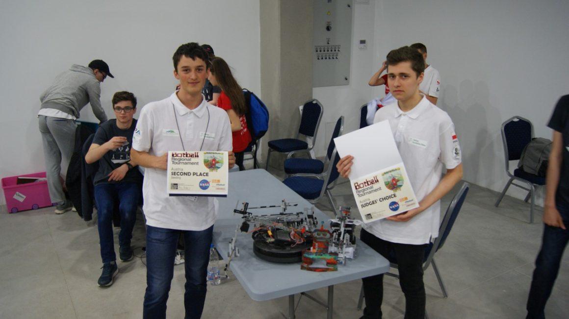 Nasi uczniowie budują najlepsze roboty w Europie