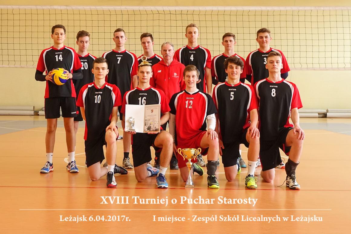 Turniej Piłki Siatkowej Chłopców O Puchar Starosty Powiatu Leżajskiego