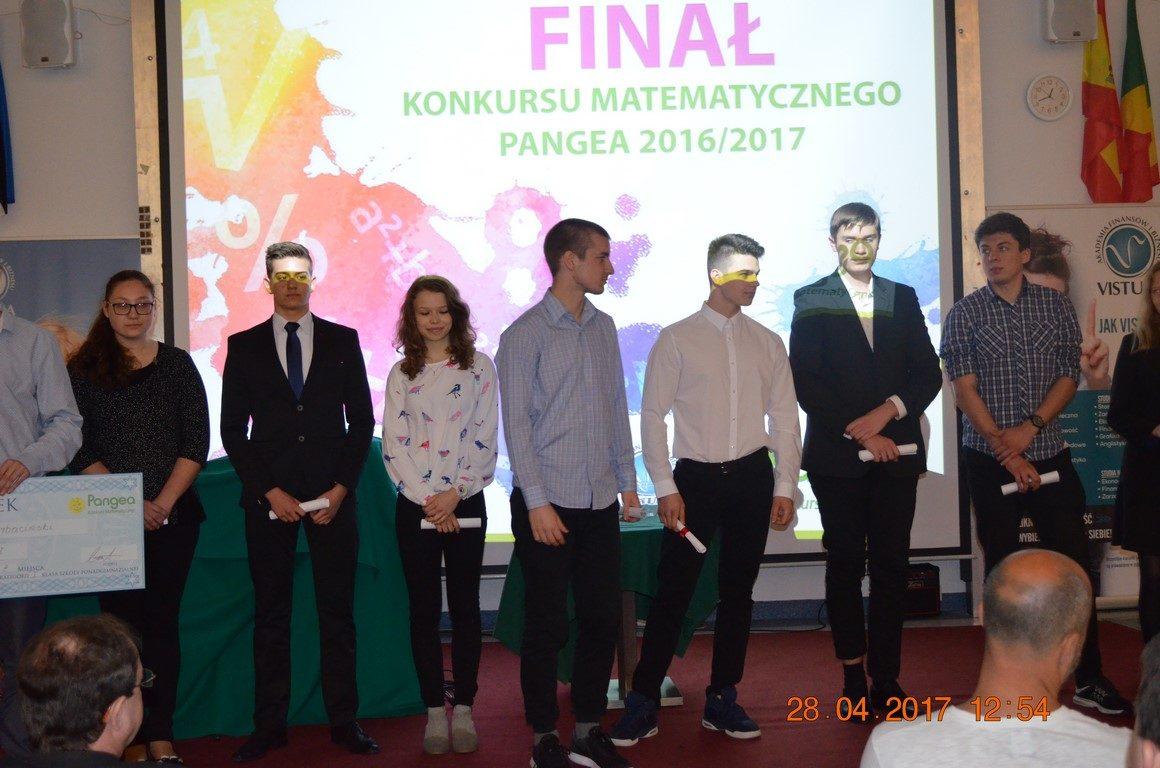Nasi uczniowie laureatami Międzynarodowego Konkursu Matematycznego PANGEA