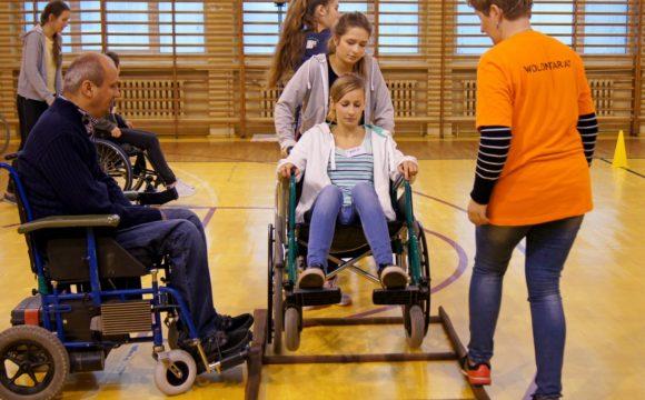 Warsztaty zzakresu pomocy osobom niepełnosprawnym