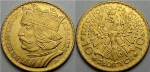 Moneta wybita w 900 rocznicę koronacji władcy.