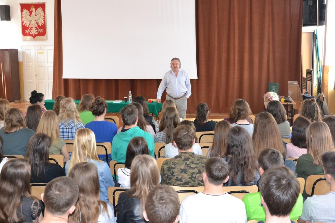 Spotkanie autorskie z dr. Ryszardem Jabłońskim