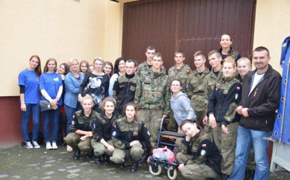 Współpraca wolontariuszy istrzelców narzecz osób niepełnosprawnych