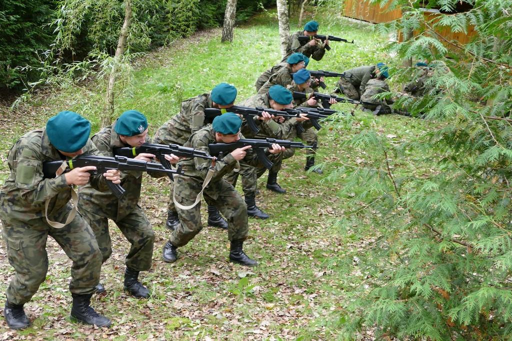 Obóz szkoleniowy klasy wojskowej i pożarniczej