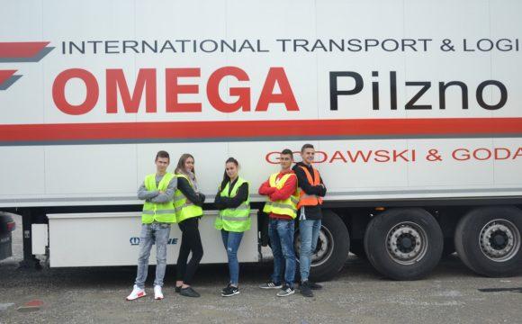 Logistycy zwizytą wFirmie Omega Pilzno Godawski&Godawski Sp. zo.o. wPilźnie