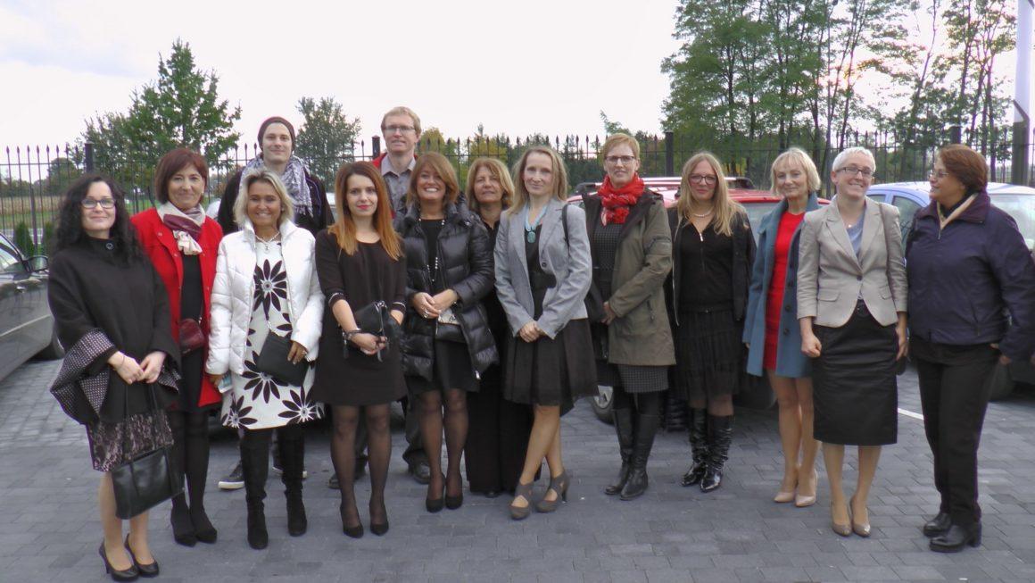 Imiędzynarodowe spotkanie nauczycieli wramach projektu Erazmus+