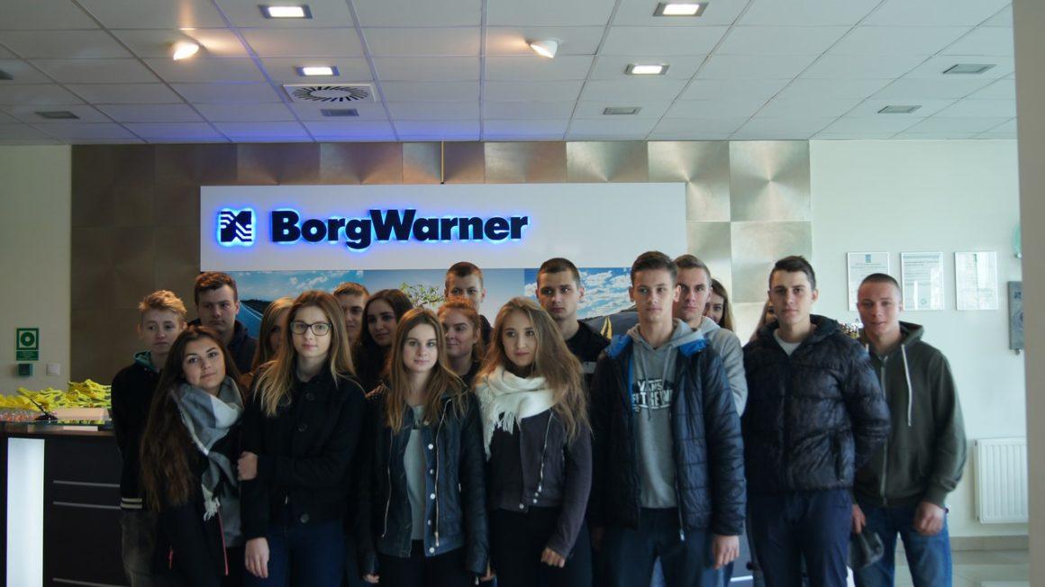 Spedytorzy w firmie BorgWarner