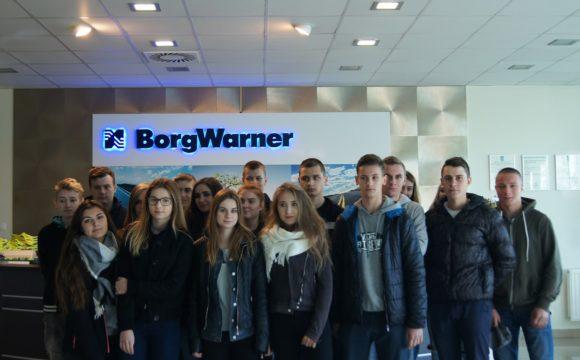 Spedytorzy wfirmie BorgWarner