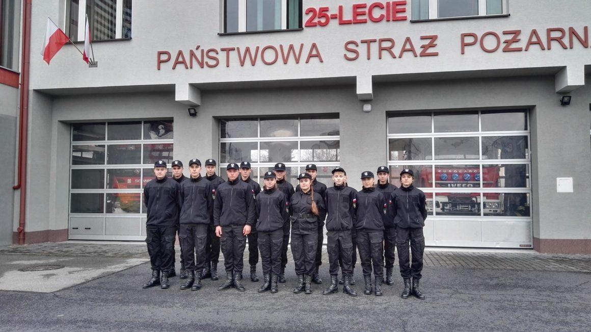 Kolejna wizyta wPowiatowej Państwowej Straży Pożarnej wLeżajsku