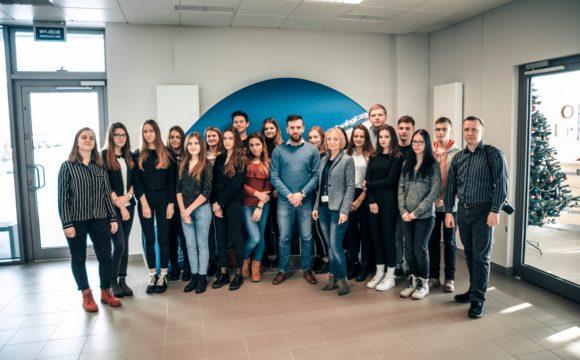 Uczniowie ERASMUS+ z wizytą w Dolinie Podkarpackich STARTUPÓW