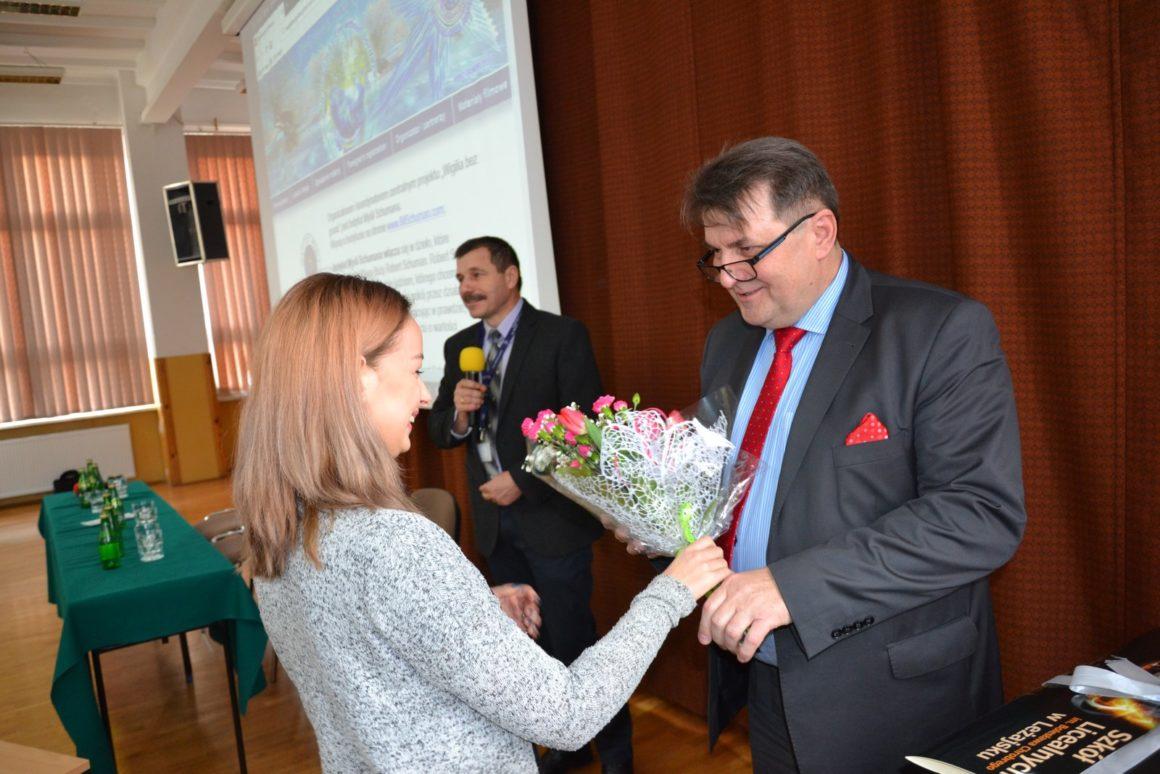 Wykład prof.Zbigniewa Krysiaka wZespole Szkół Licealnych