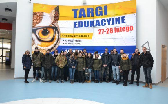 Logistycy naPodkarpackich Targach Edukacyjnych EduSalon
