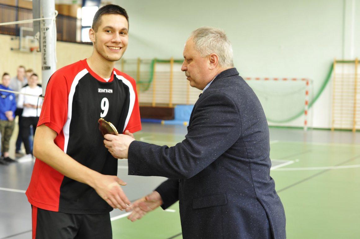 Turniej w piłce siatkowej chłopców w Zamościu