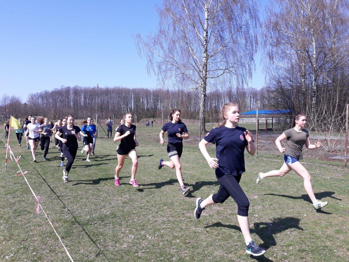 Udany występ biegaczy w Rejonowej Licealiadzie w przełajach