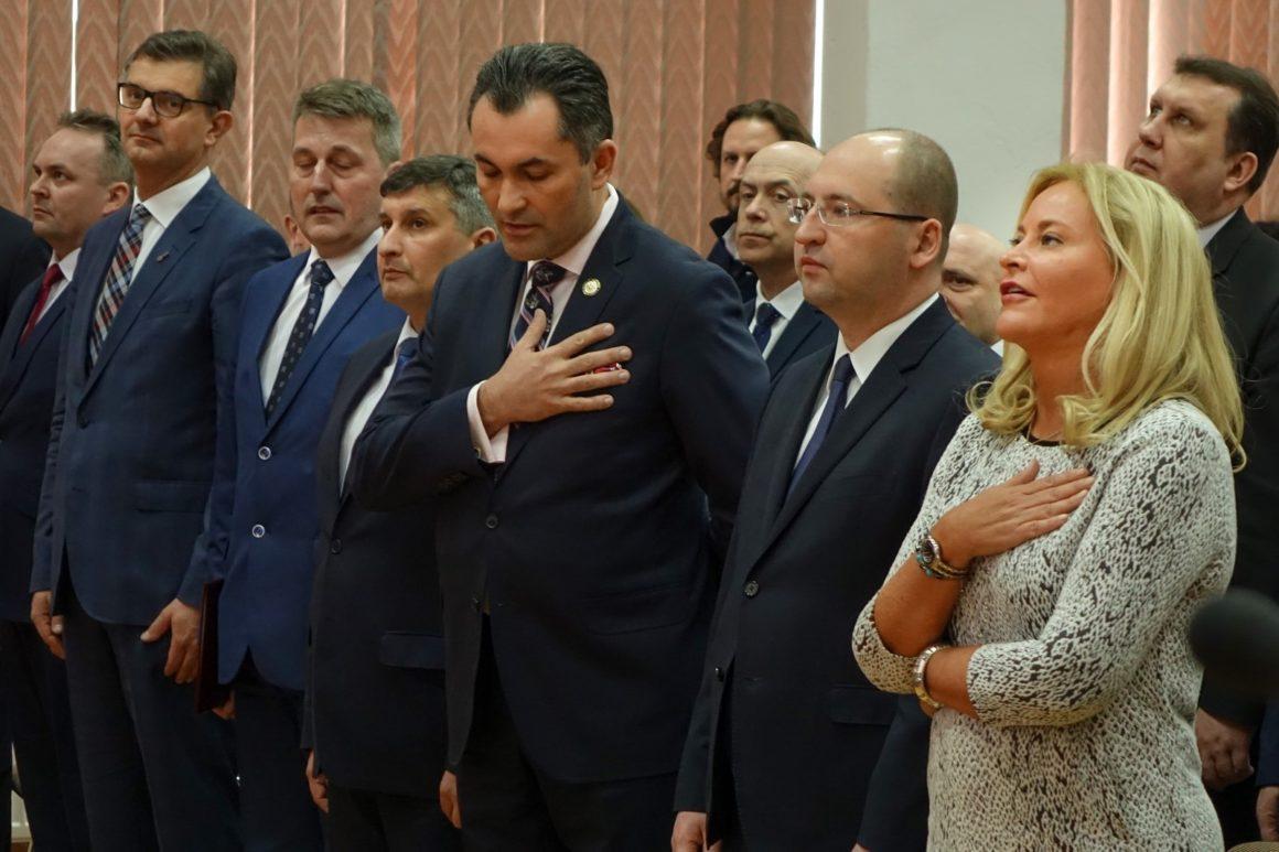 Delegacja ze Stanów Zjednoczonych w Zespole Szkół Licealnych im. Bolesława Chrobrego w Leżajsku
