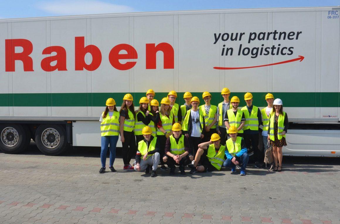 Logistycy w firmie Raben
