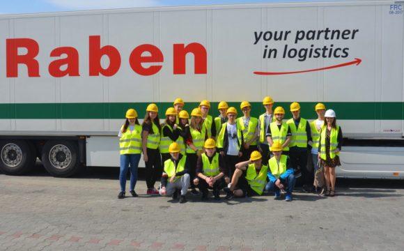 Logistycy wfirmie Raben