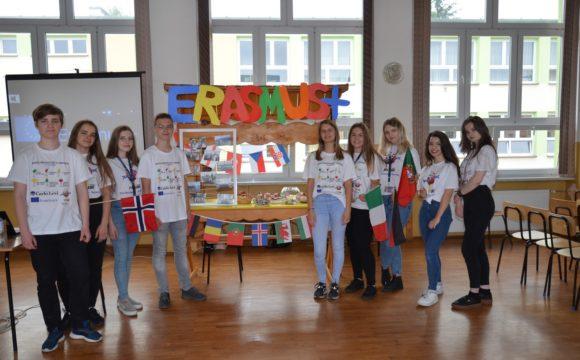 ERASMUS+ na Dniu Otwartym Szkoły