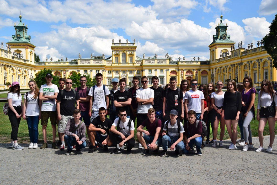 Wycieczka klasy 1D do Warszawy