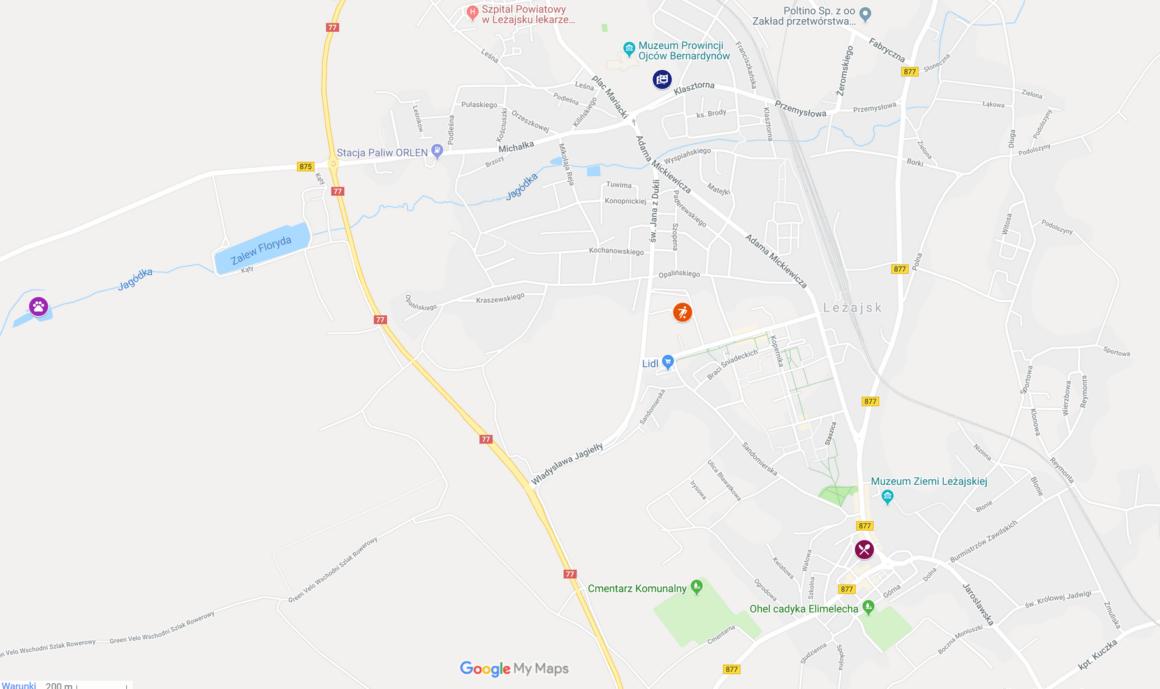 Mapa ERASMUS+