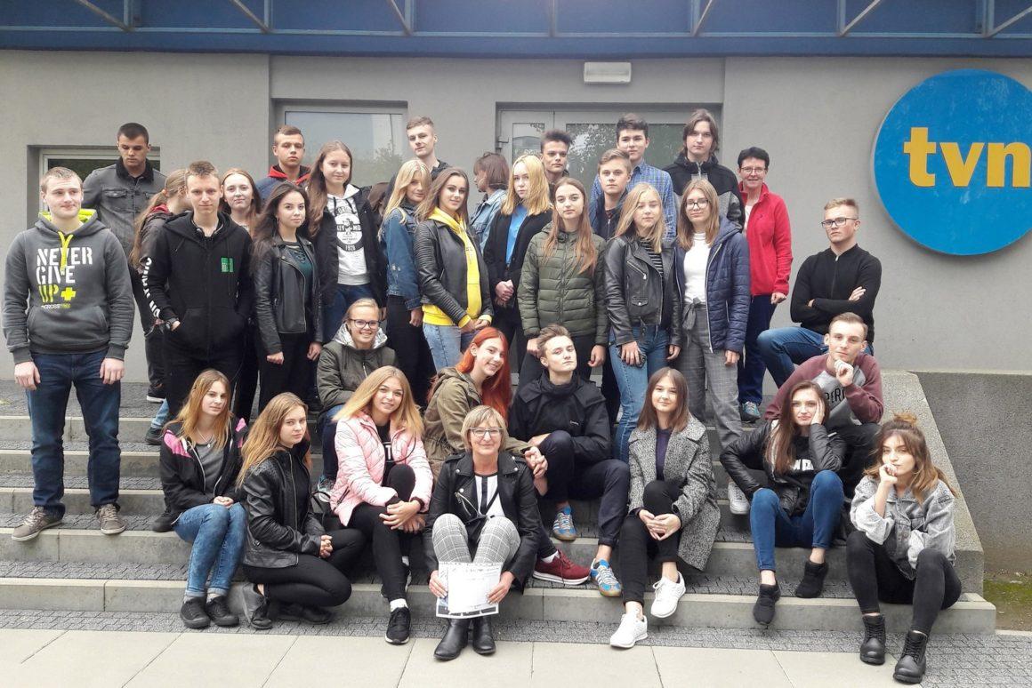 Z wizytą w stacji telewizyjnej TVN w Krakowie