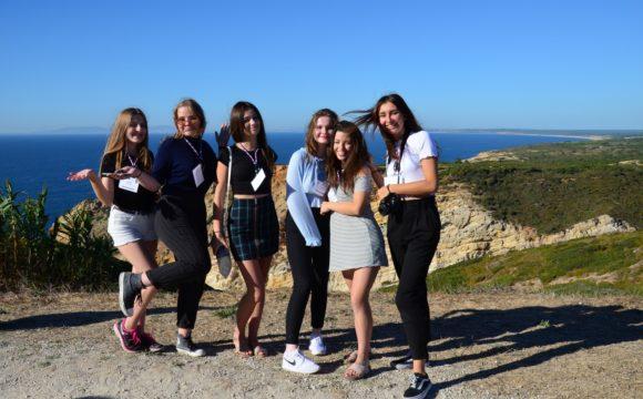 Uczniowie Chrobrego z wizytą w Portugalii