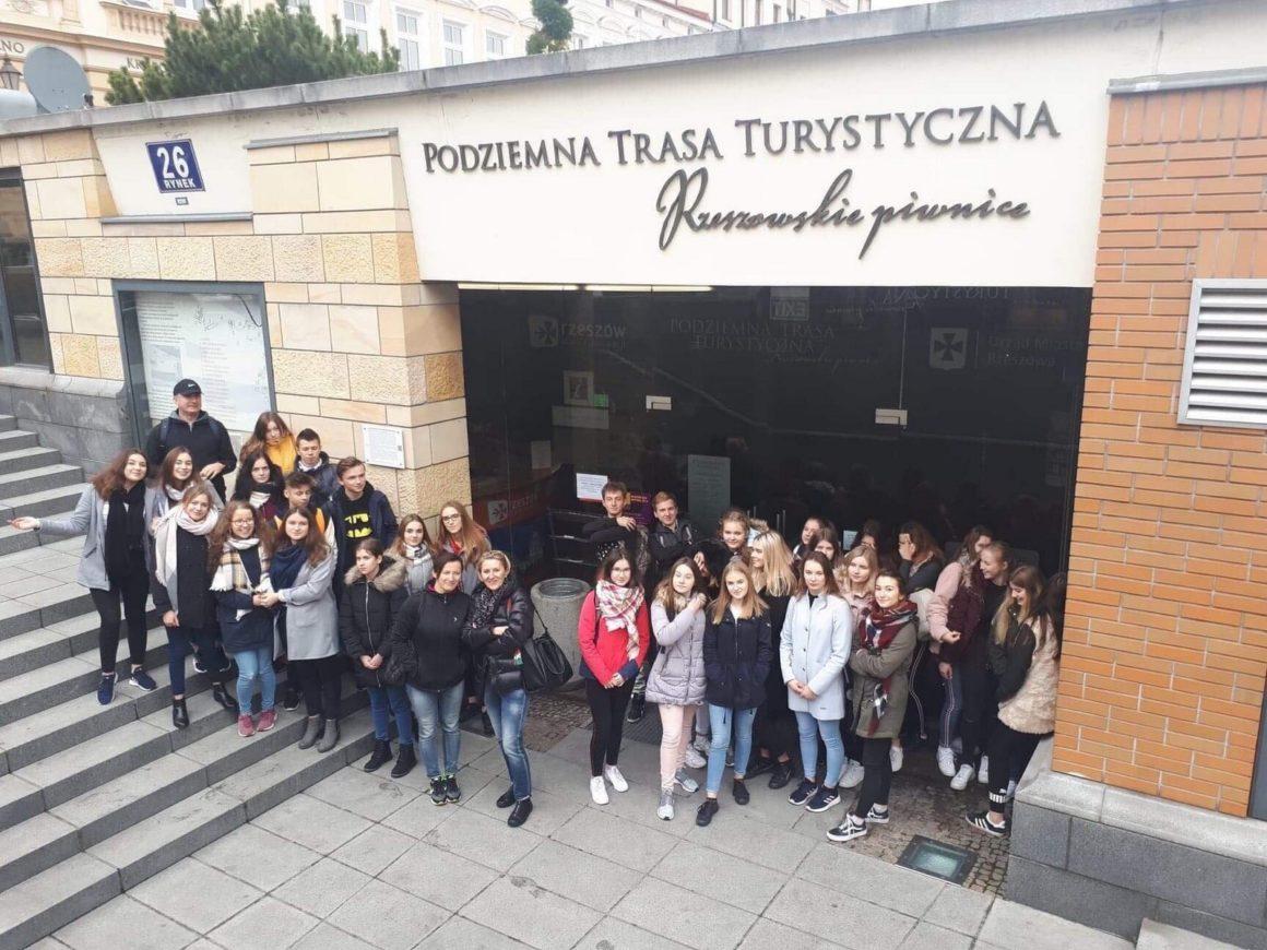 Klasa 1E w stolicy Podkarpacia