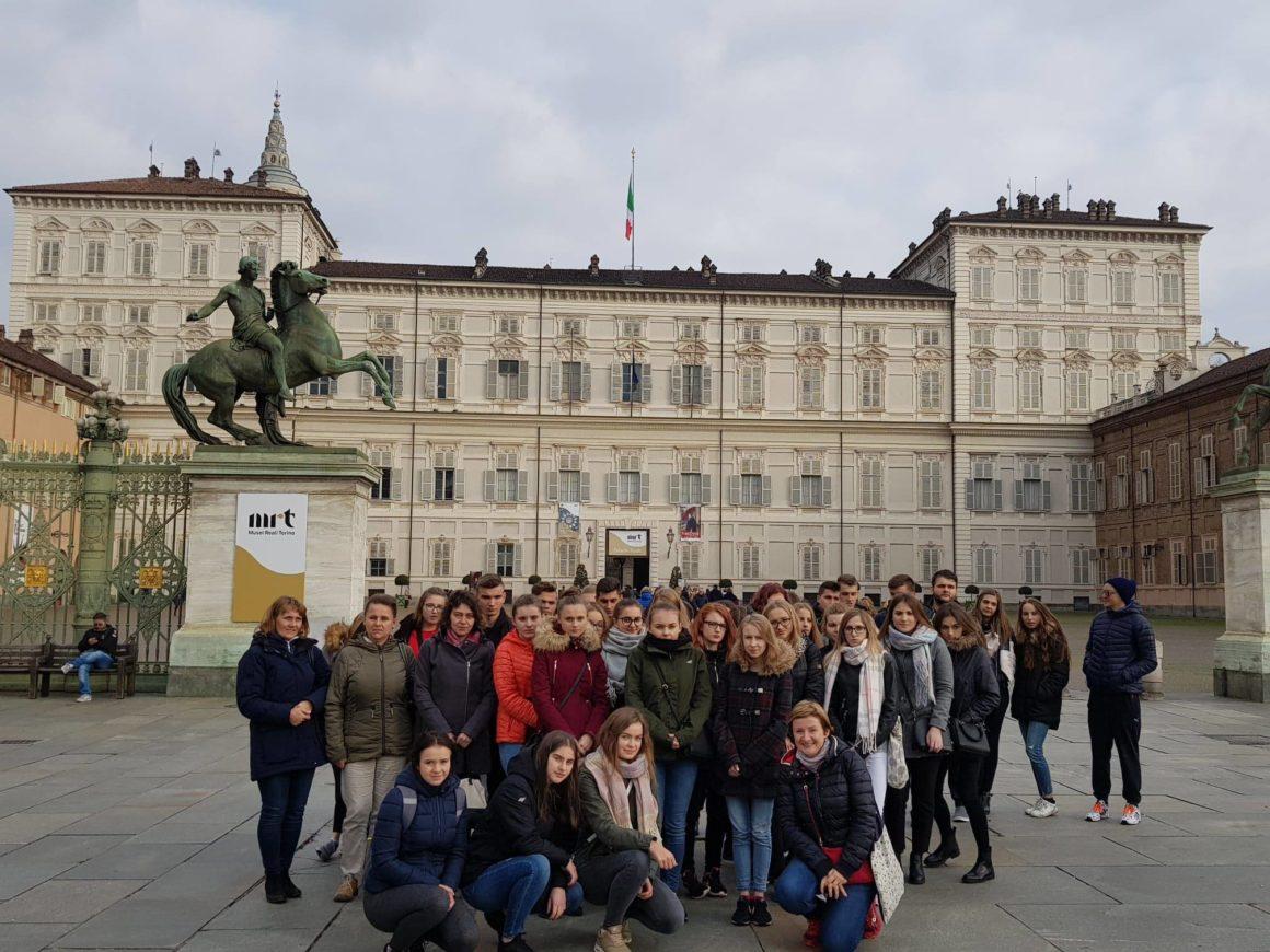 Uczniowie z ZSL na praktykach zagranicznych we Włoszech – pierwszy tydzień praktyk dobiega końca