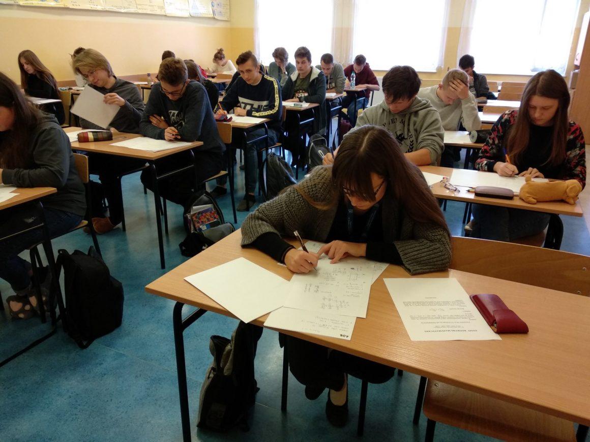 Rekordowa ekipa matematyków w finale Wojewódzkiego Konkursu Matematycznego
