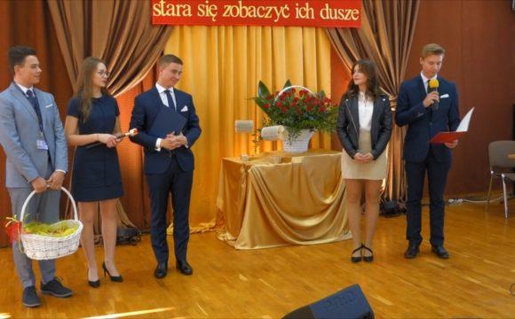 Przekazanie władz Samorządu Uczniowskiego