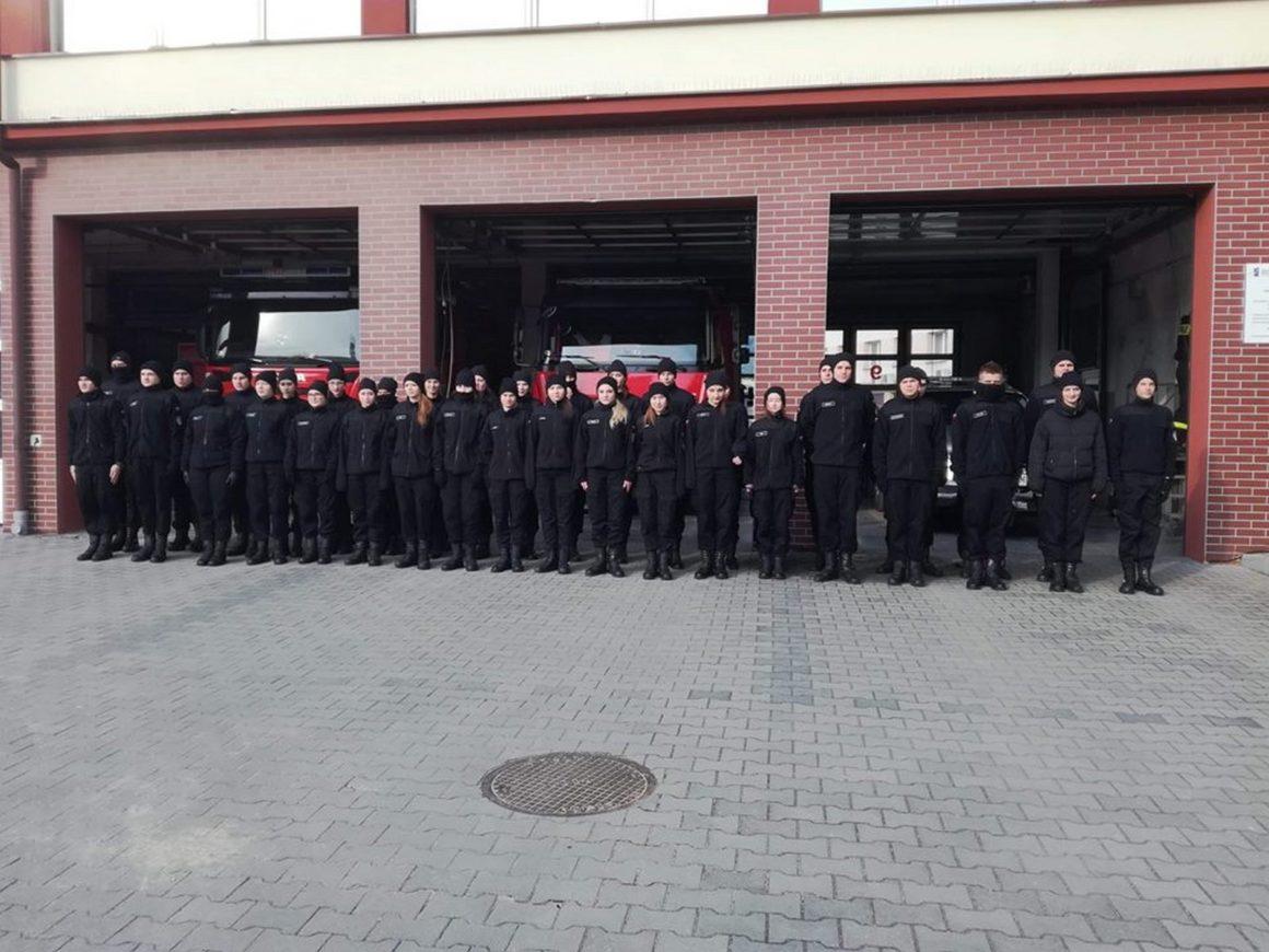 Wyjazd klas pożarniczych do Rzeszowa