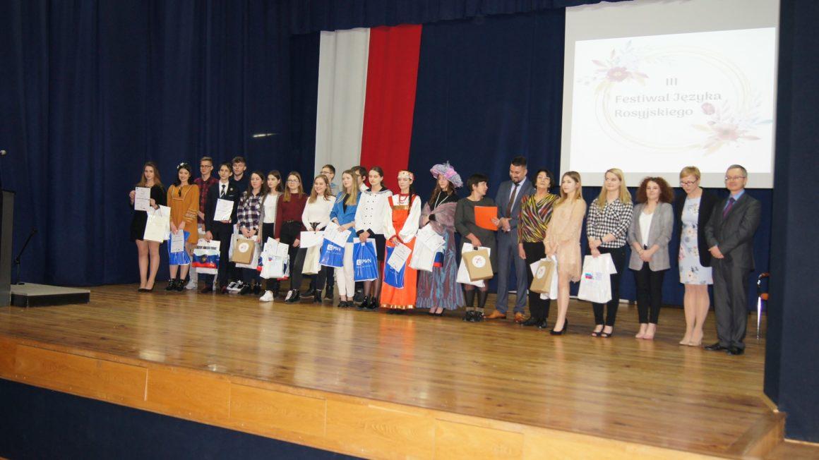 III Wojewódzki  Festiwal Języka Rosyjskiego