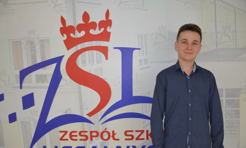 Łukasz Łobodziński w finale Ogólnopolskiej Olimpiady o Diamentowy Indeks AGH w Krakowie