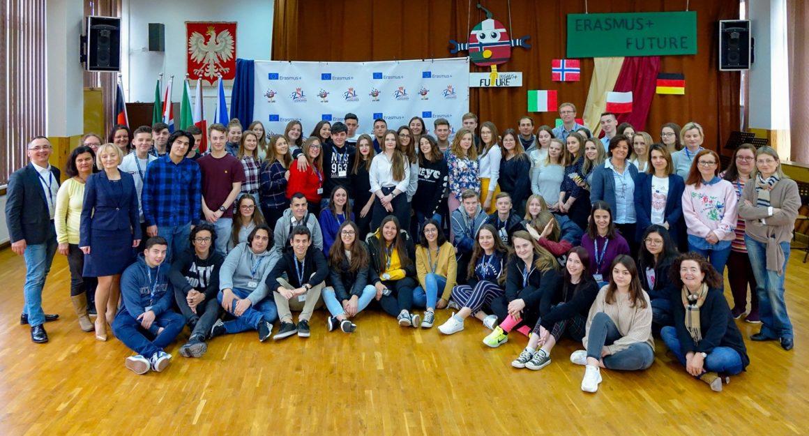 Zagraniczni goście w naszej szkole w ramach programu ERASMUS+