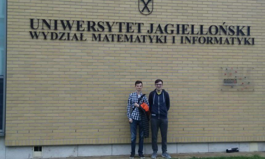 Nasi uczniowie w trzeciej edycji Jagiellońskich Warsztatów Olimpijskich