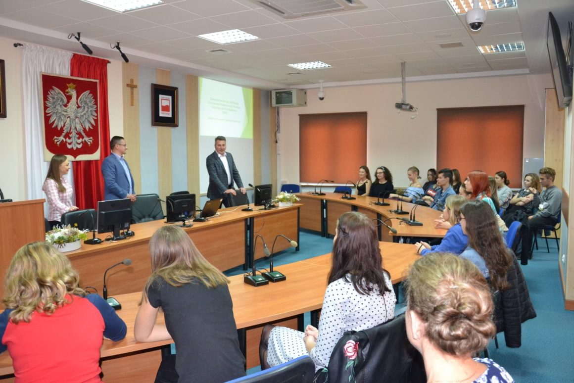 Kolejna wizyta w Urzędzie Gminy Leżajsk
