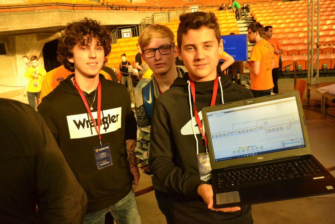 Nasi uczniowie na Ogólnopolskich Zawodach Robotic Arena we Wrocławiu