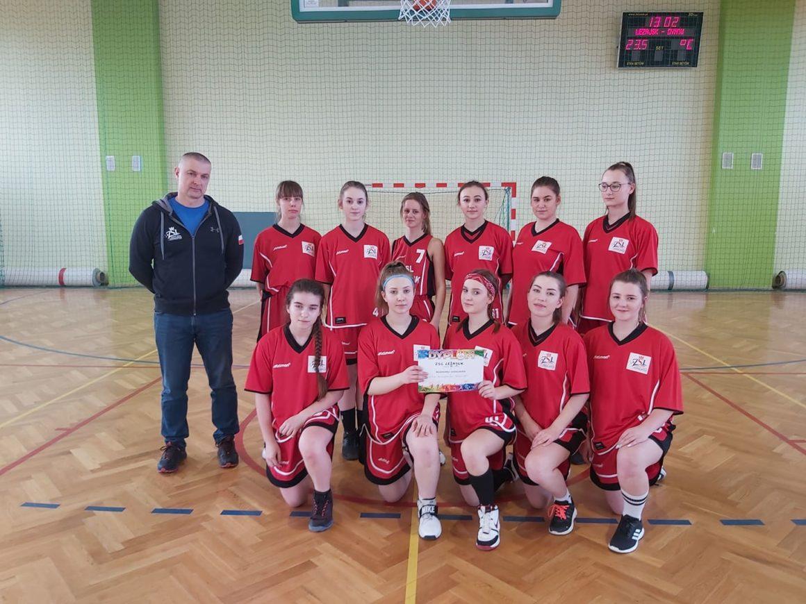 Rejonowa Licealiada Koszykówki dziewcząt