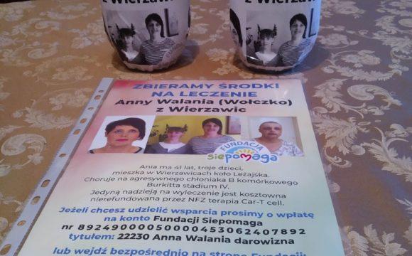 Wolontariat pomaga chorej Ani Walania