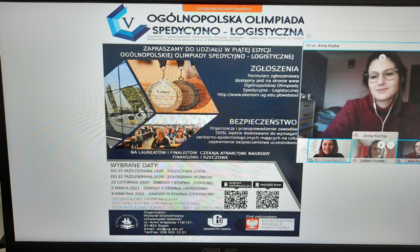 Etap szkolny Ogólnopolskiej Olimpiady Spedycyjno-Logistycznej
