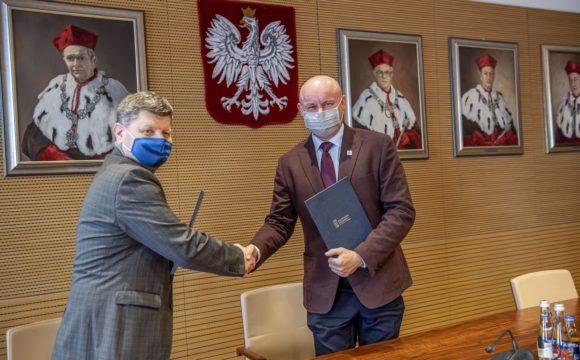 Porozumienie o współpracy zawarte z Politechniką Rzeszowską