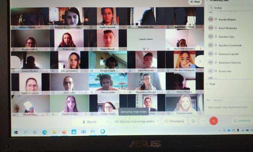 Spotkanie techników z wykładowcą WSIZ Rzeszów