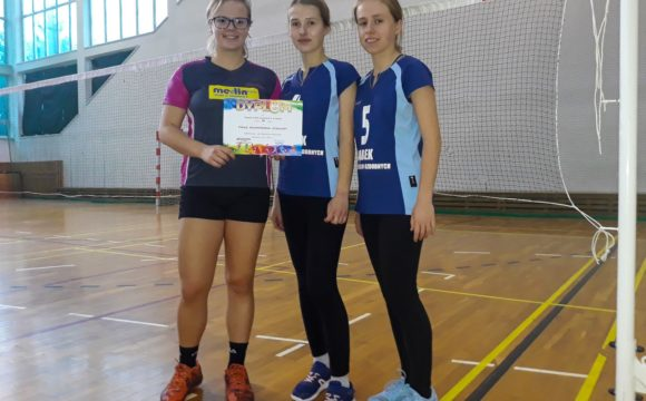 Finał Wojewódzki Licealiady w badmintonie