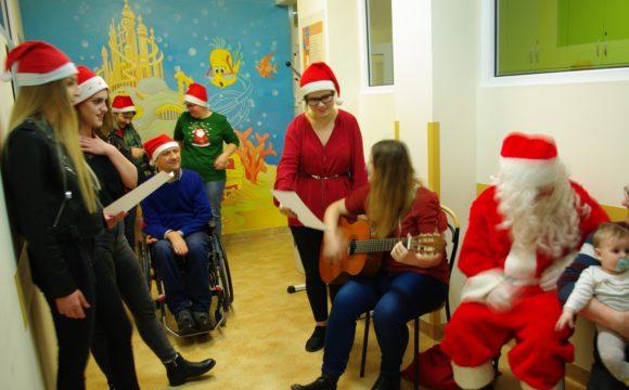 Św. Mikołaj w szpitalu