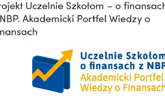"""""""Uczelnie Szkołom – o finansach z NBP"""""""