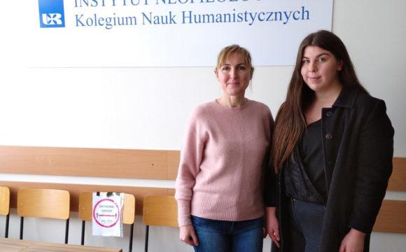 Uczennica klasy III h Patrycja Trójniak w finale 44. Olimpiady Języka Niemieckiego