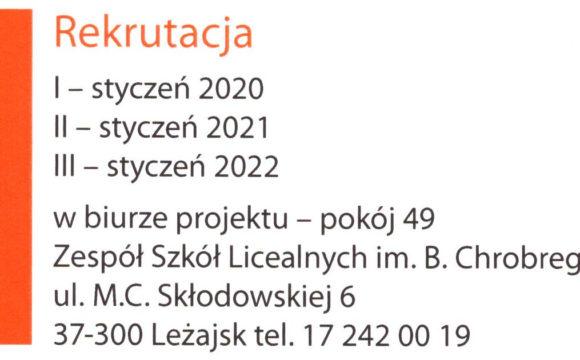Rekrutacja 2021 – zakończona